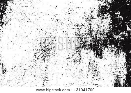 Distressed Overlay Texture. Empty Grunge Design Element. Retro Dirty Background. Distress Grunge Overlay. EPS10 vector.