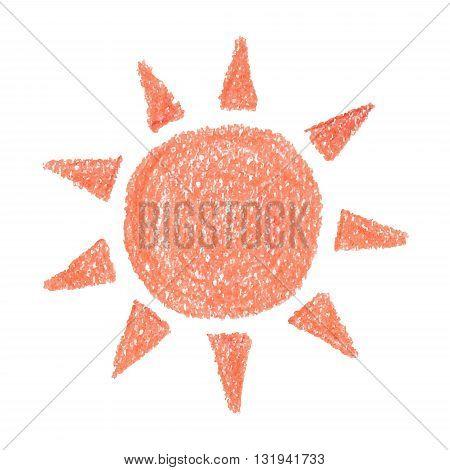 Sun vector hand drawn Icon Sun Icon Vector Sun Icon EPS Sun Icon design