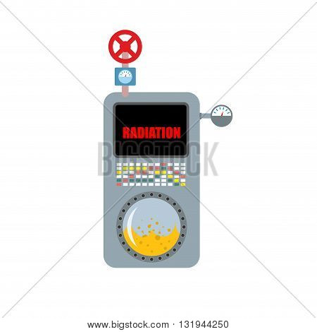 Dosimeter Instrument for measuring radiation. Apparatus for measuring power or effective dose of ionizing radiation