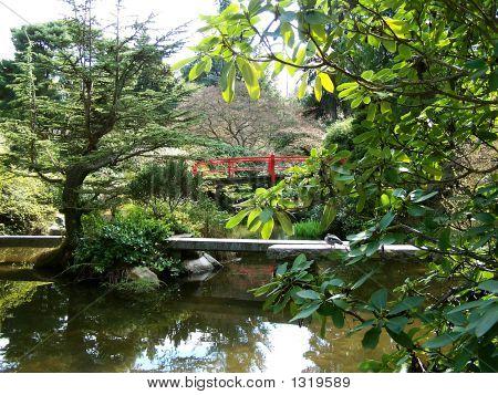 Asian Garden Bridges