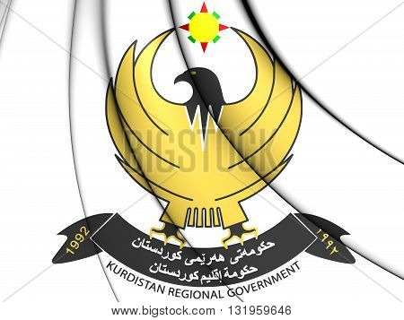 Kurdistan Regional Government Coat Of Arms