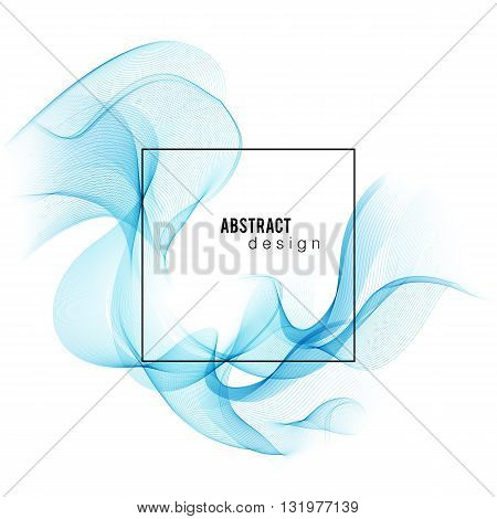 Blue Color smoke wave. Transparent wave. Abstract smooth wave vector. Blue wave. Wave blue. Smoke blue wave. Vector blue wave. Blue wave lines. Vector lines. Abstract lines. Lines