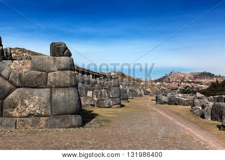ruins of the ancient Inca stronghold
