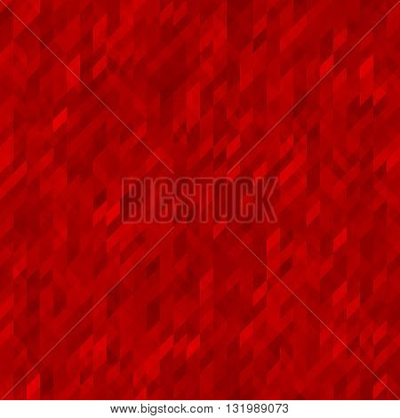 Gradient red background. Red abstract geometric background. Background for brochures web design leaflets banners. Red wallpaper.