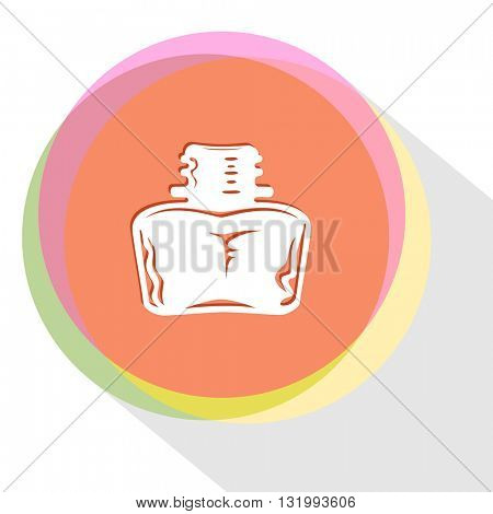 inkstand. Internet template. Vector icon.