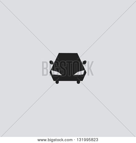 Car icon vector. Car logo. Car sign. Car icon web - stock vector.