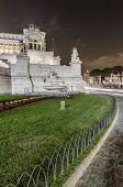 Italy, Rome, Altare della Patria - Vittoriano  shooted during a long exposure session in the night. poster