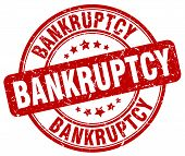 bankruptcy red grunge round vintage rubber stamp.bankruptcy stamp.bankruptcy round stamp.bankruptcy grunge stamp.bankruptcy.bankruptcy vintage stamp. poster