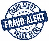 fraud alert blue grunge round vintage rubber stamp.fraud alert stamp.fraud alert round stamp.fraud alert grunge stamp.fraud alert.fraud alert vintage stamp. poster