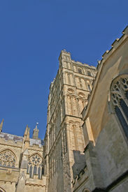 Exeter Cathedral In Summer