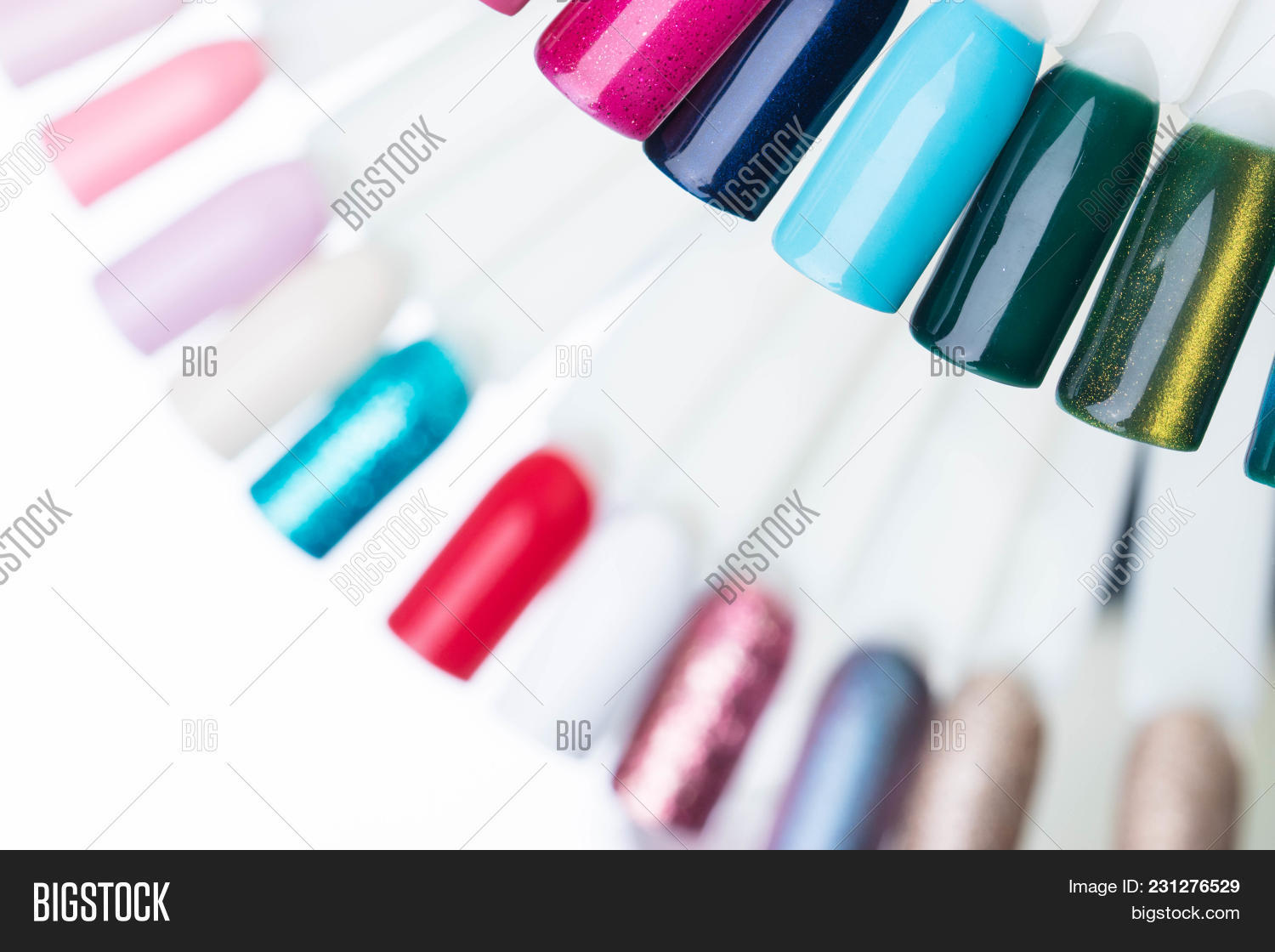 Palette Swatches Nail Image & Photo (Free Trial)   Bigstock