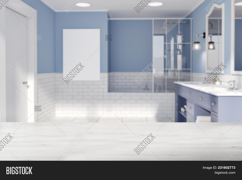 Blue White Brick Image & Photo (Free Trial) | Bigstock