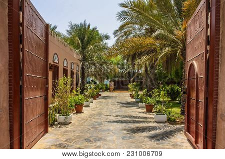 Heritage Village In Abu Dhabi In United Arab Emirates