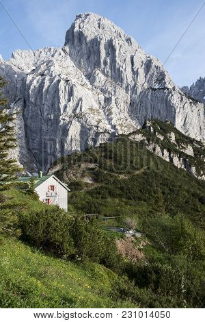 Stripsenjochhaus At The Wilder Kaiser In Austria