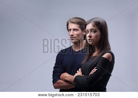 young couple thinking about problems
