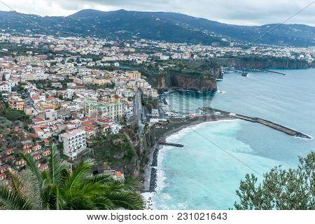 Amalfi Coast Along The Italian Shoreline, Winter Vacation 2018
