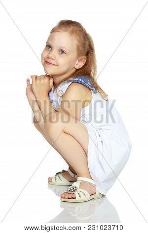 The Little Girl Thinks.