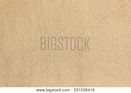 Clear Wet Sands Beach Texture Background For Web And Print.