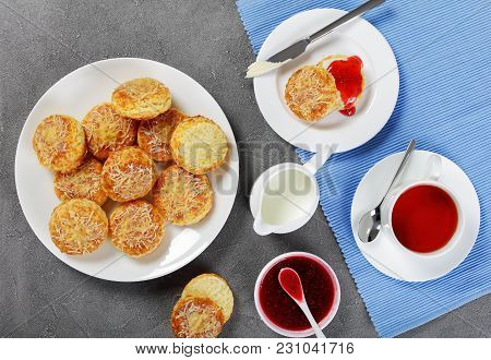 English Tea With Freshly Baked Scone
