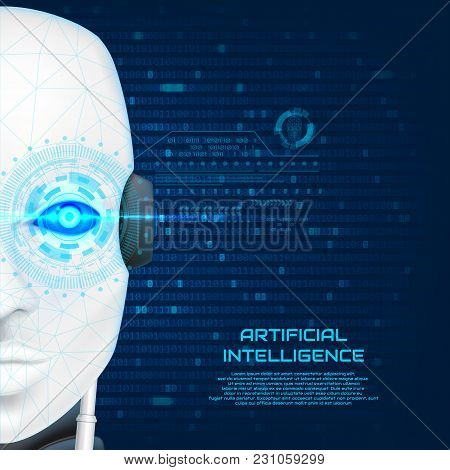 Artificial Intelligence Concept Background