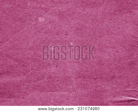Old Pink Cardboard Surface. Abstract Background And Texture For Design And Ideas.
