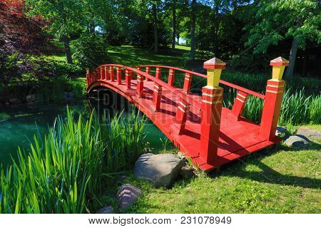 Schnormeier Gardens in Gambier, Ohio is open one weekend a year and it attracts thousands of visitors.  The Chinese and Japanese gardens are breathtaking.