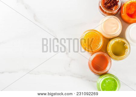Variety Of Baby Food