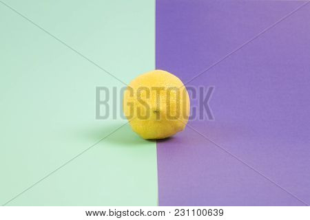 Lemon Minimal Color