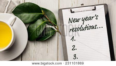 New year resolution list
