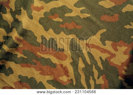 Military Uniform Pattern. Abstract Background And Texture.