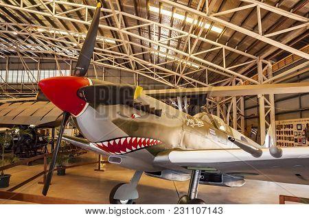 Darwin, Australia - August 15, 2010- The Darwin Military Museum Displays Military Equipment Used In