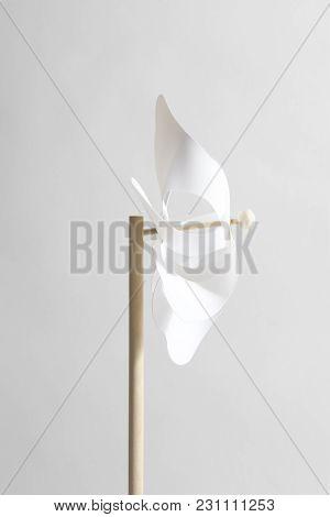 White Pinwheel