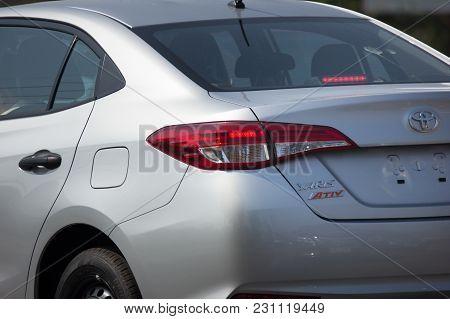 New Private Sedan Car Toyota Yaris Ativ Eco Car