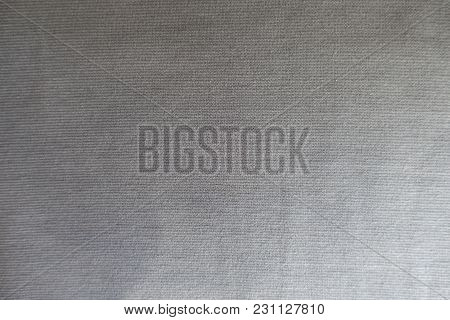 Light Grey Thin Jersey Fabric From Above
