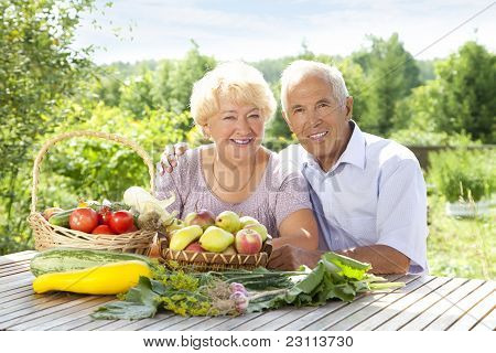 Portrait Of Loving Couple