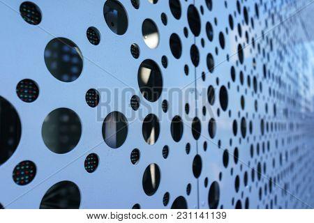 LED Media Facade Close up, LED light, Exterior Facade Light, LED Pixels Architectural Media Lights, LED Lighting Wall, Building Facade