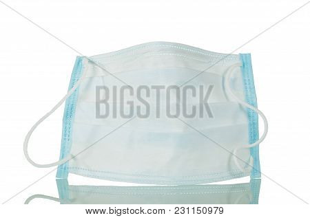 Individual Protective Mask Isolated On White Background