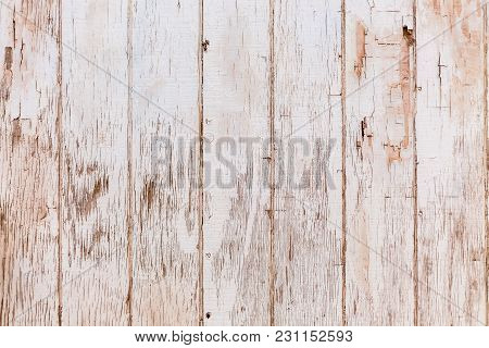 Grungy Old Textured Wood Panel Background Surface. Rustic Old Paint Textures.