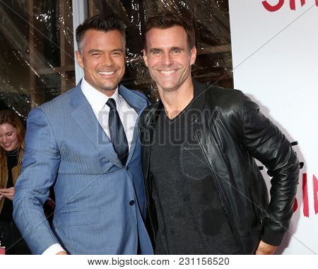 LOS ANGELES - MAR 13:  Josh Duhamel, Cameron Mathison at the