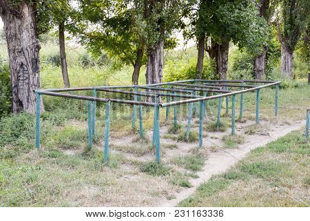 Element Of Obstacle Course Snake. Yard Sports Facilities