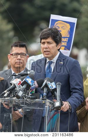 Beverly Hills, California - March 12, 2018: Defend Dreamers Rally Hosted By Coalition For Humane Imm