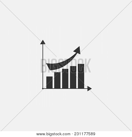 Vector Symbol Of Diagram Web Line Isolated Icon