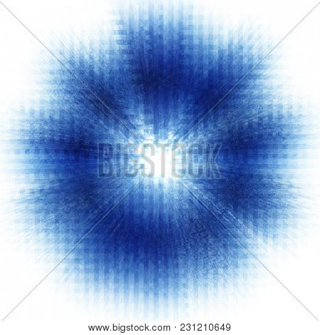 Abstract blue background for design