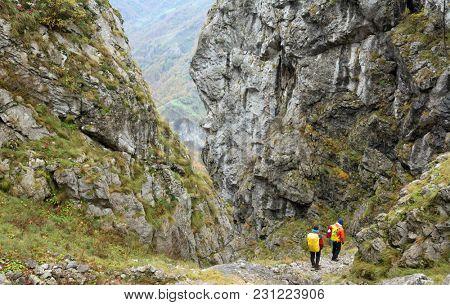 Trekking in Mehedinti Mountains, Romania, Europe