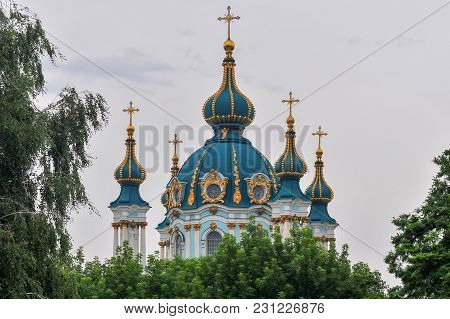 Saint Andrew's Church - Kiev, Ukraine