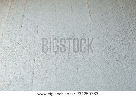 snow patina on wooden lags background