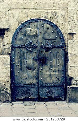 Beautiful Old Door. Antique, Exterior, Front, English,