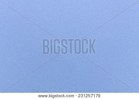 Blue Seamless Fabric, Fine Cloth Textile Texture.