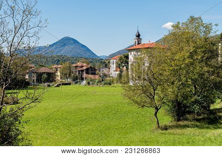 Brinzio, Is A Small Village In Valey Rasa, Province Of Varese, Italy.