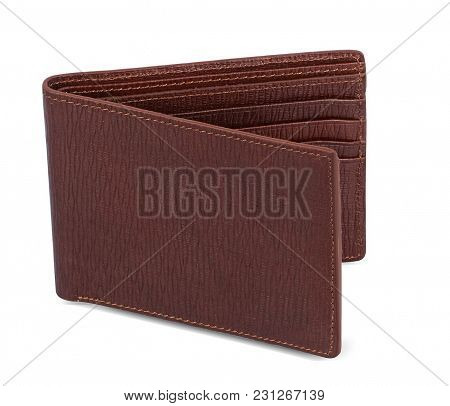 Keep Your Monetary Essentials In One Place And Safe With This Brown Colored Wallet. Made Of Leather,